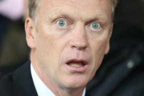 David Moyes' Stupid Face